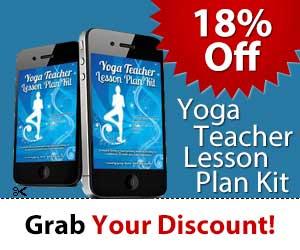 free downward facing dog themed yoga lesson plan